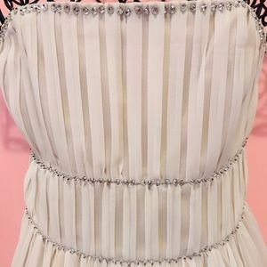 H&M conscious collection chiffon dress